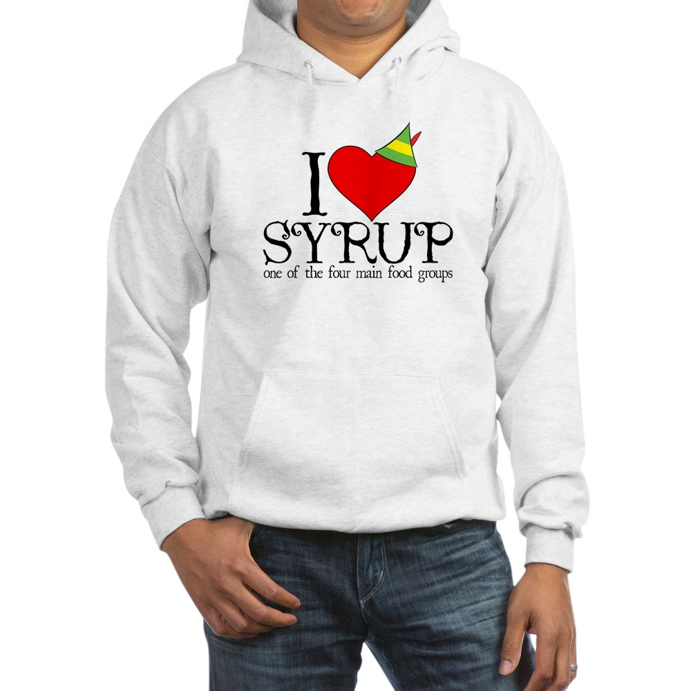 Elf - I Heart Syrup Hooded Sweatshirt
