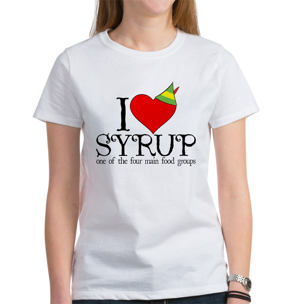 Elf - I Heart Syrup Women's T-Shirt