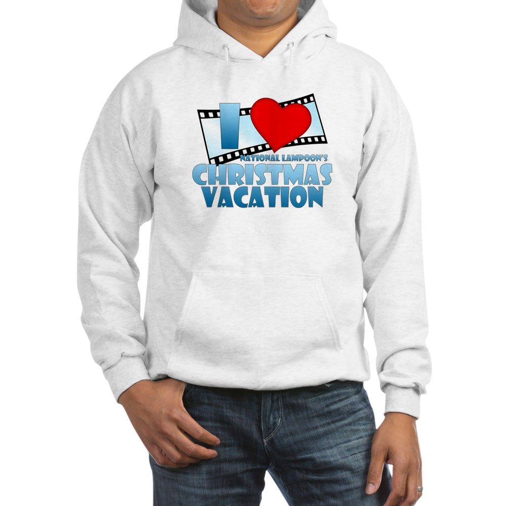 I Heart Christmas Vacation Hooded Sweatshirt