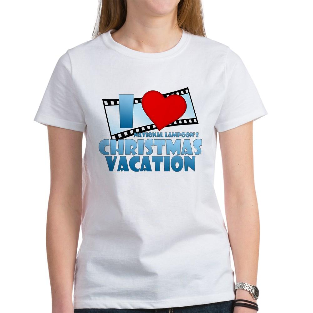 I Heart Christmas Vacation Women's T-Shirt
