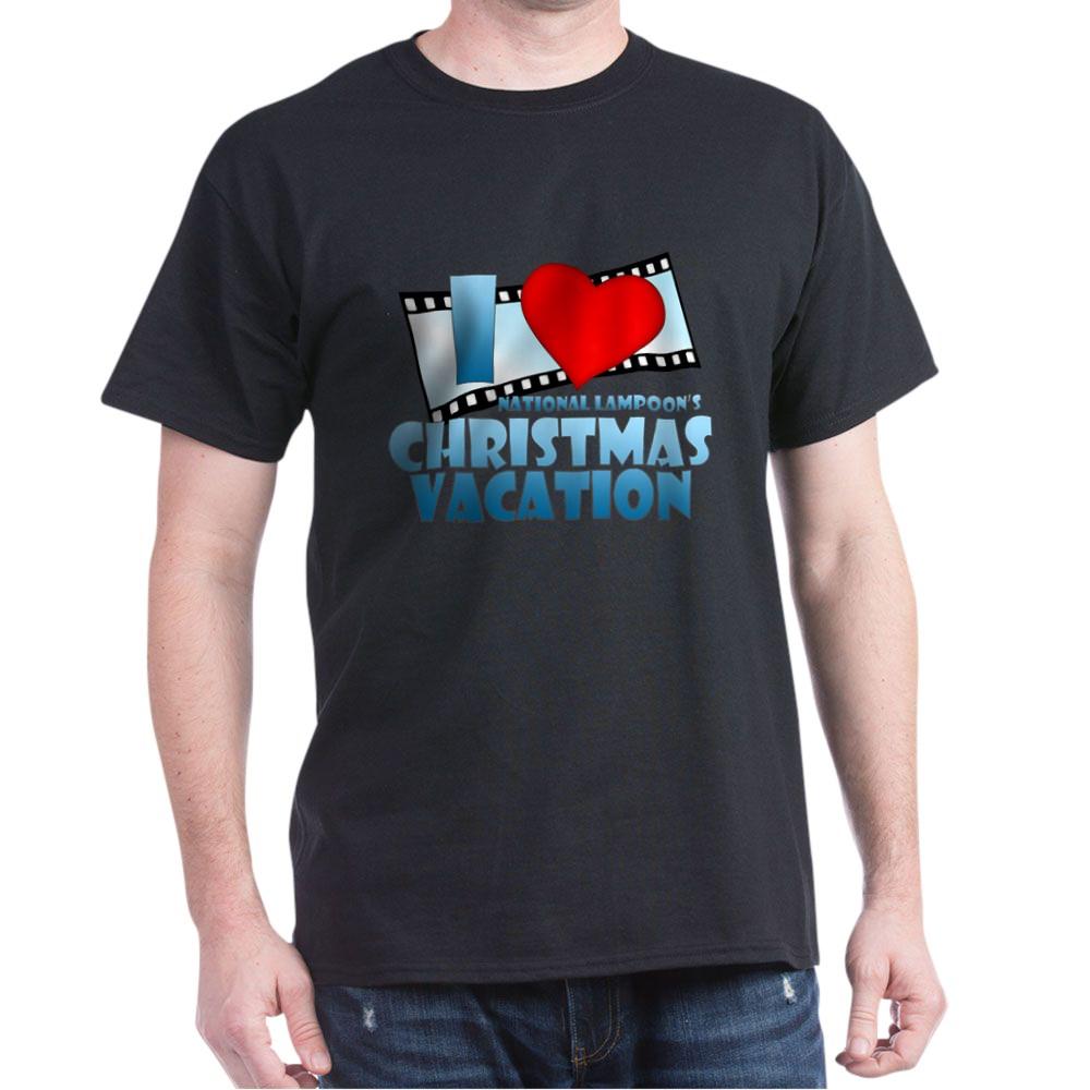 I Heart Christmas Vacation Dark T-Shirt