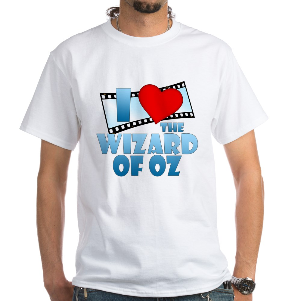 I Heart The Wizard of Oz White T-Shirt