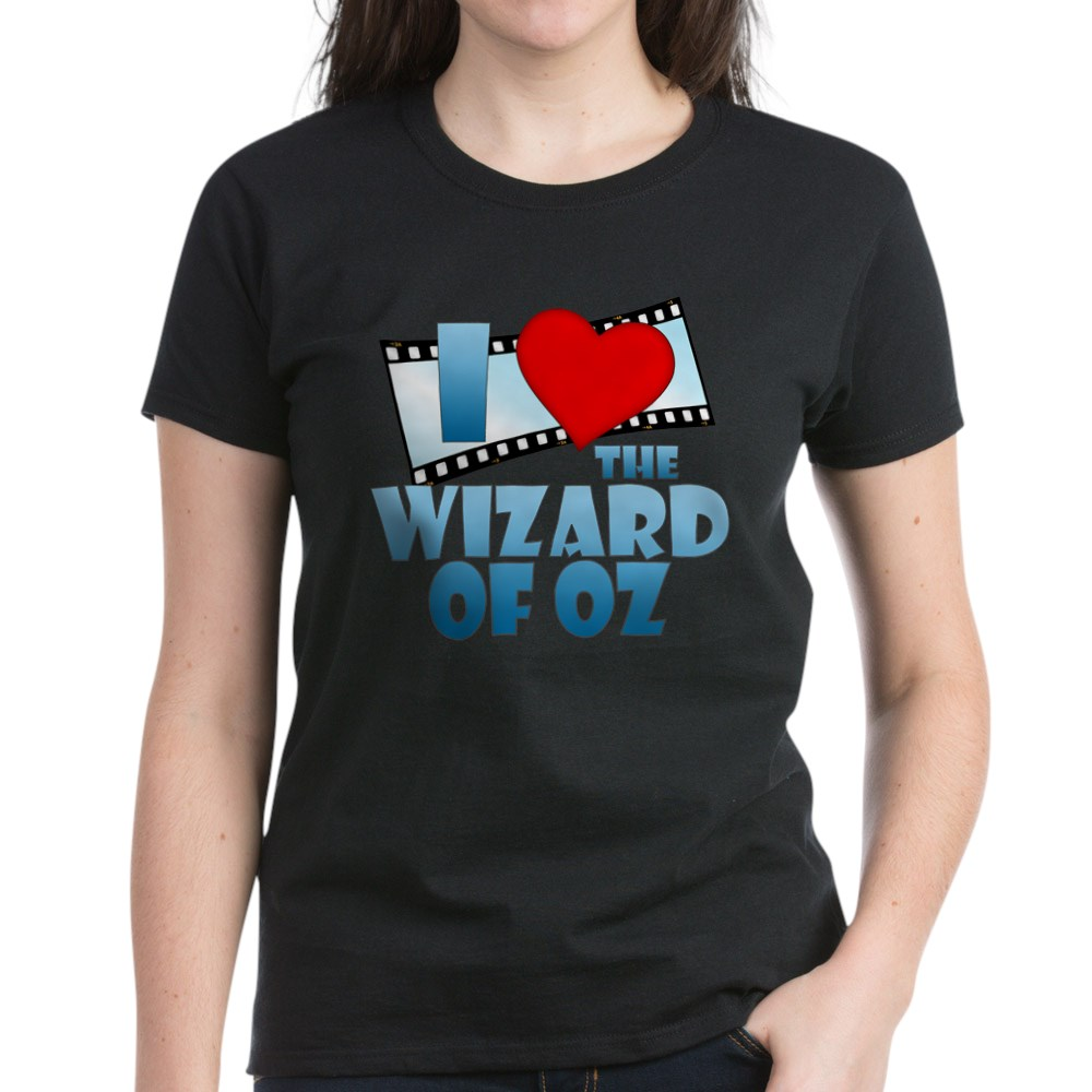 I Heart The Wizard of Oz Women's Dark T-Shirt