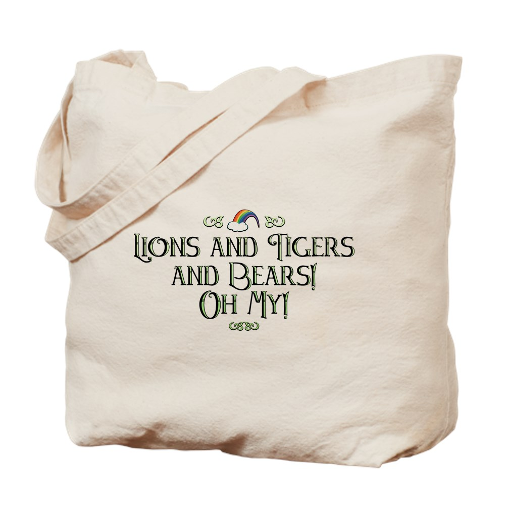 Lions and Tigers and Bears! Oh My! Tote Bag