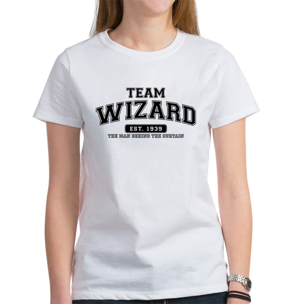 Team Wizard - The Man Behind the Curtain Women's T-Shirt