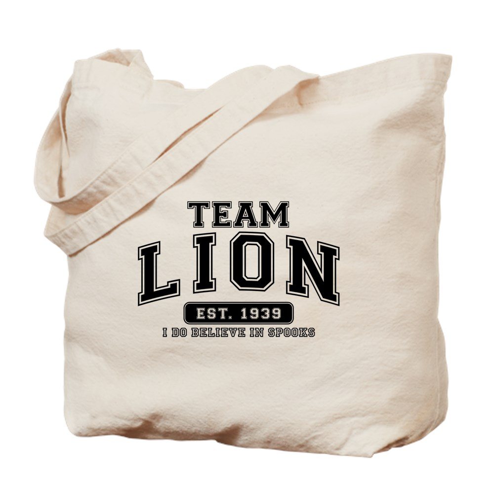 Team Lion - I Do Believe in Spooks Tote Bag