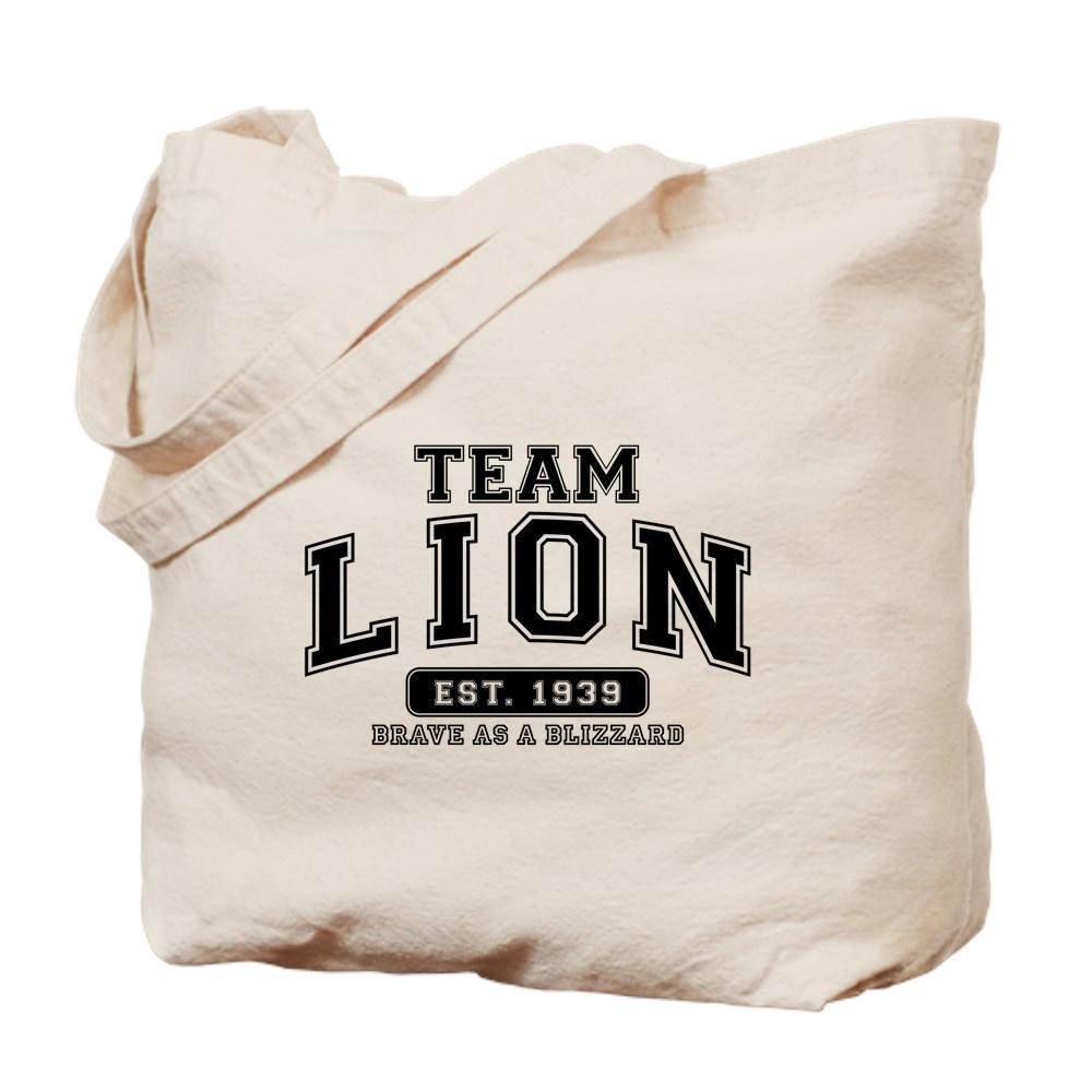 Team Lion - Brave as a Blizzard Tote Bag