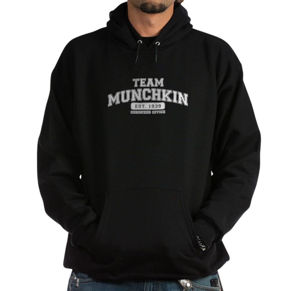Team Munchkin - Coroner's Office Dark Hoodie