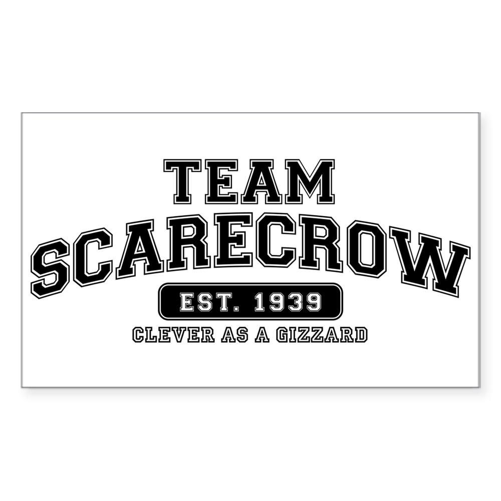 Team Scarecrow - Clever as a Gizzard Rectangle Sticker