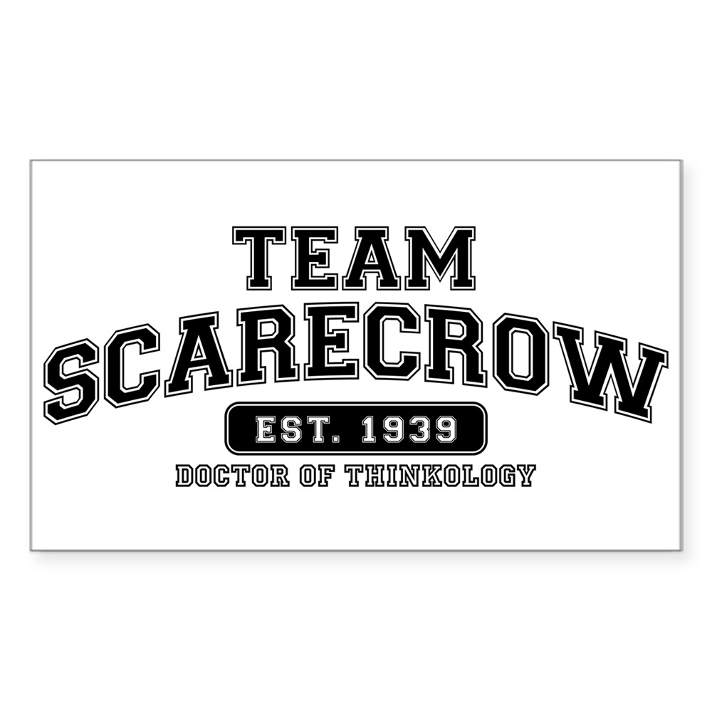 Team Scarecrow - Doctor of Thinkology Rectangle Sticker