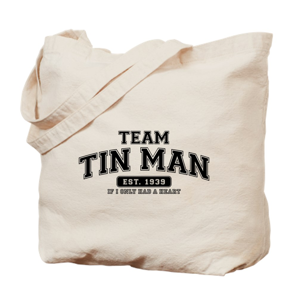 Team Tin Man - If I Only Had a Heart Tote Bag