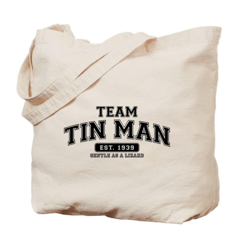Team Tin Man - Gentle as a Lizard Tote Bag