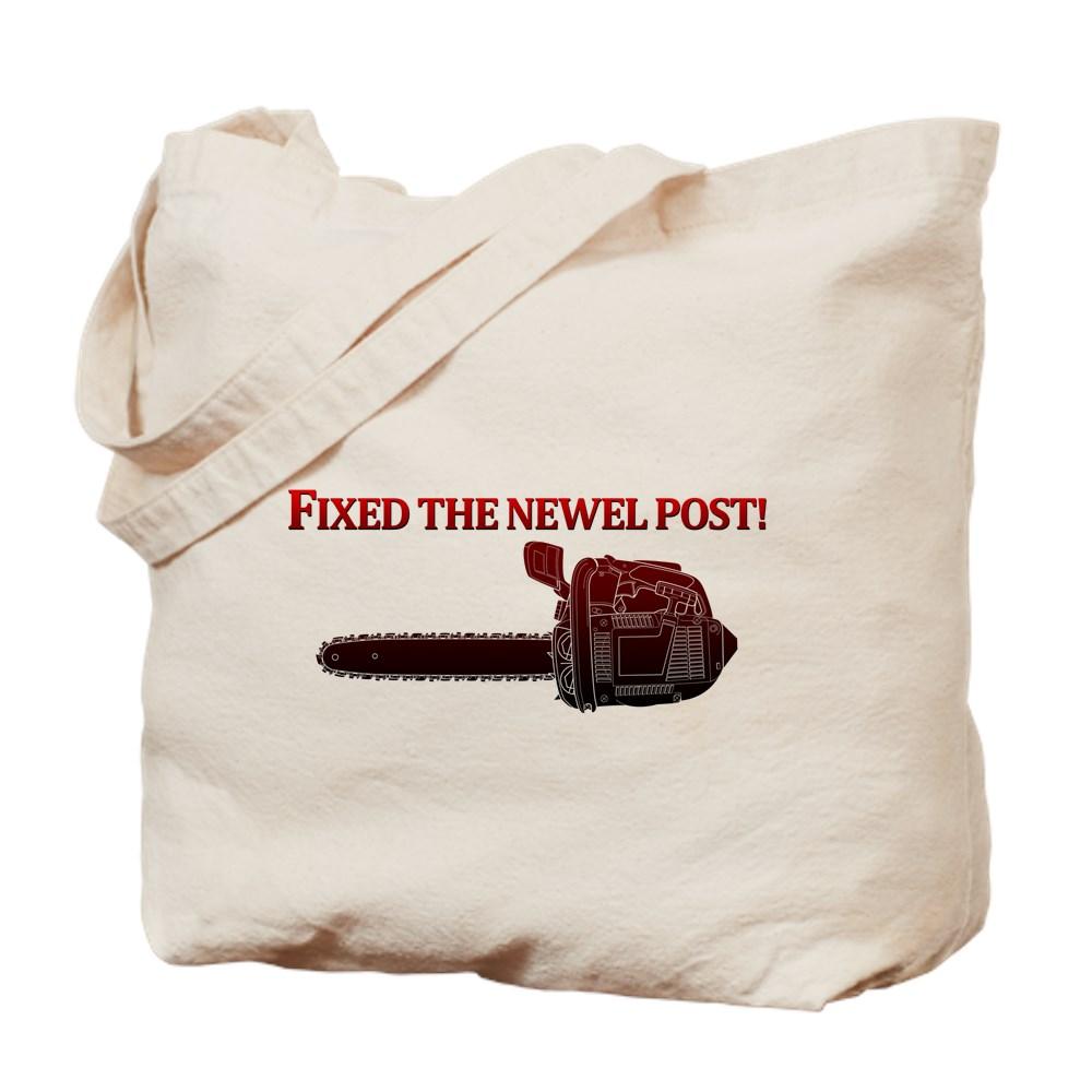 Fixed the Newel Post! Tote Bag
