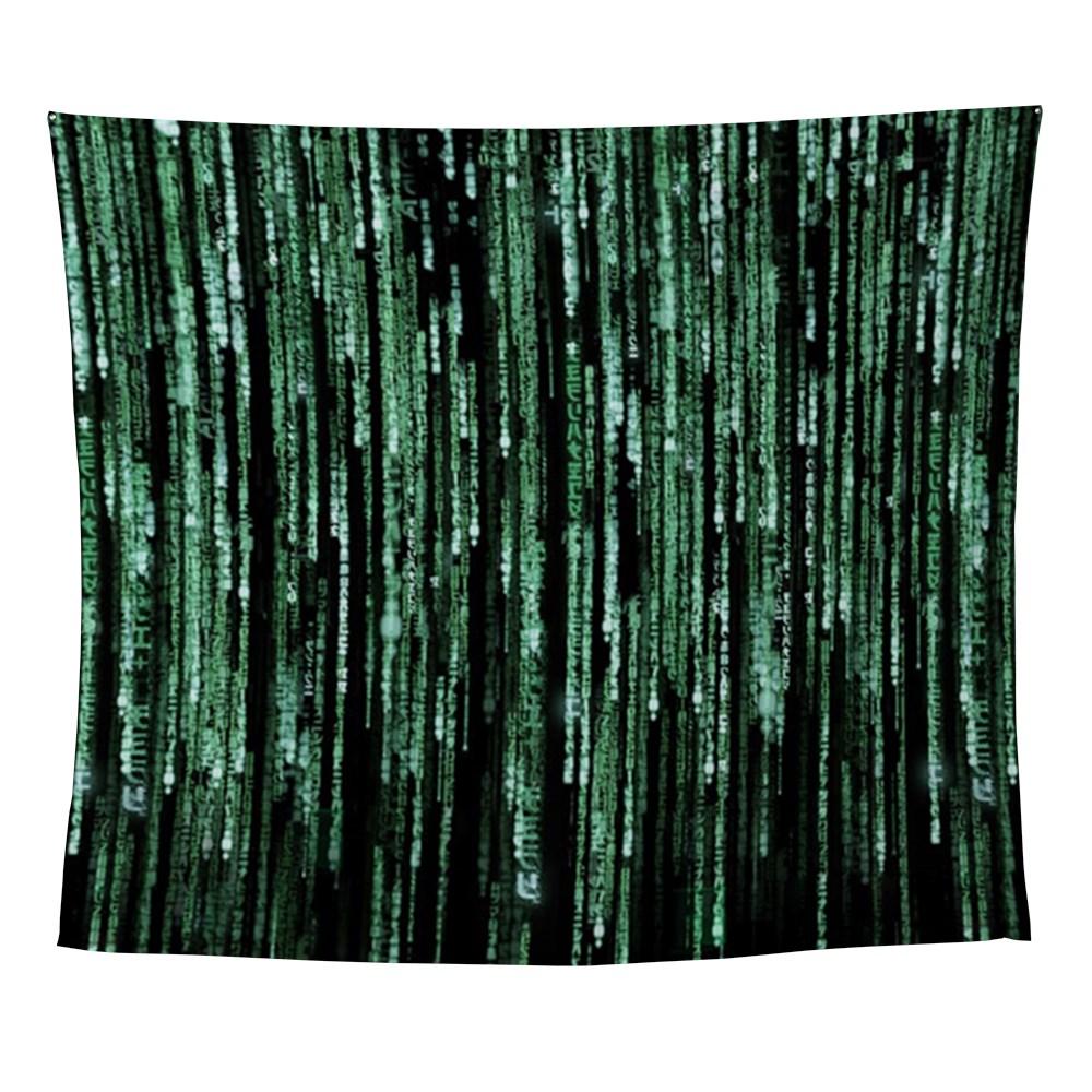 Matrix Code Wall Tapestry
