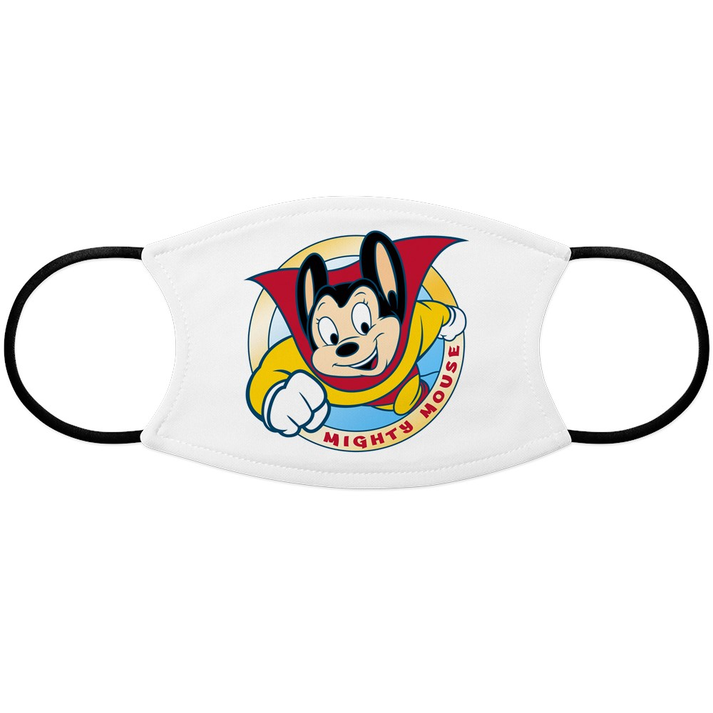 Mighty Mouse Face Mask