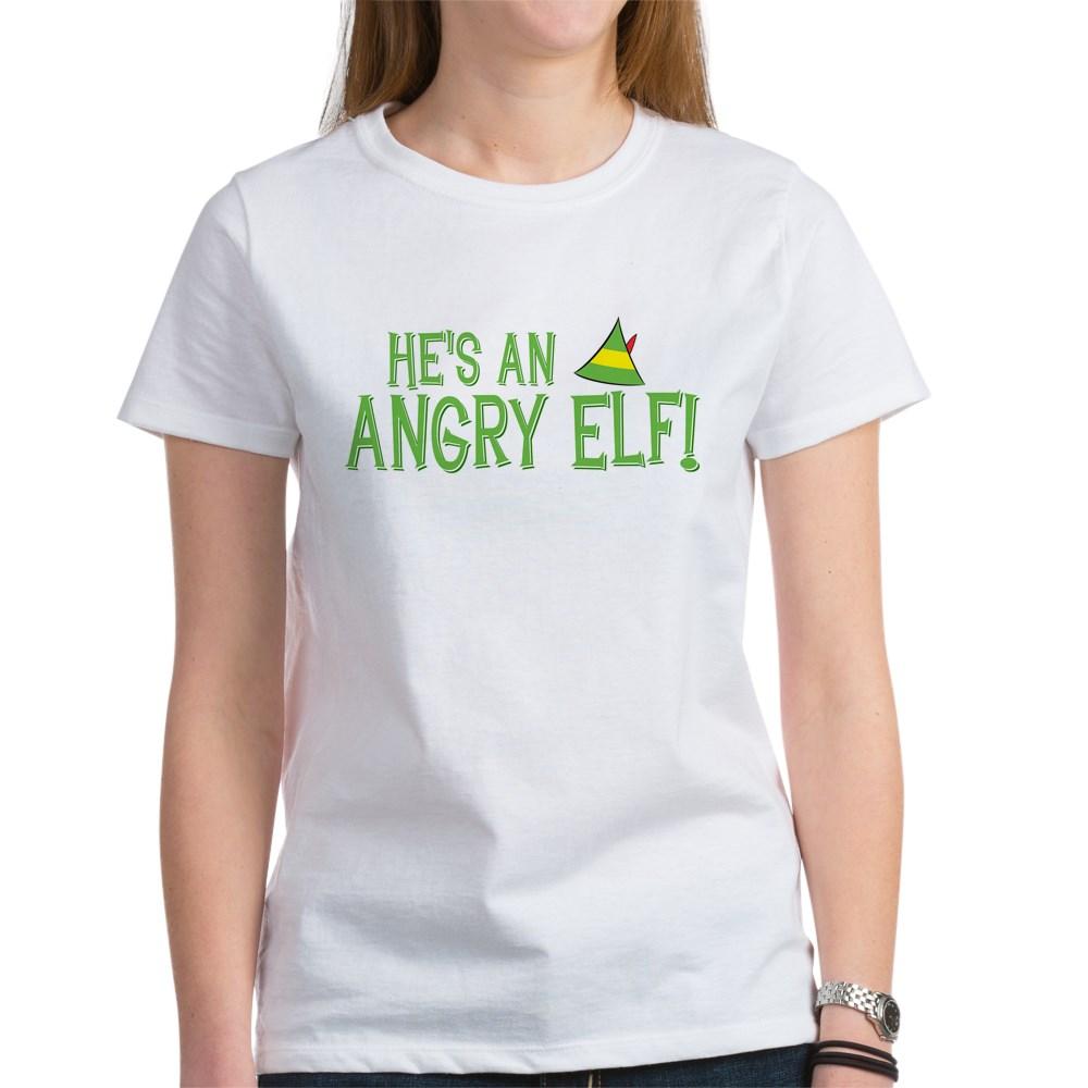 He's an Angry Elf! Women's T-Shirt