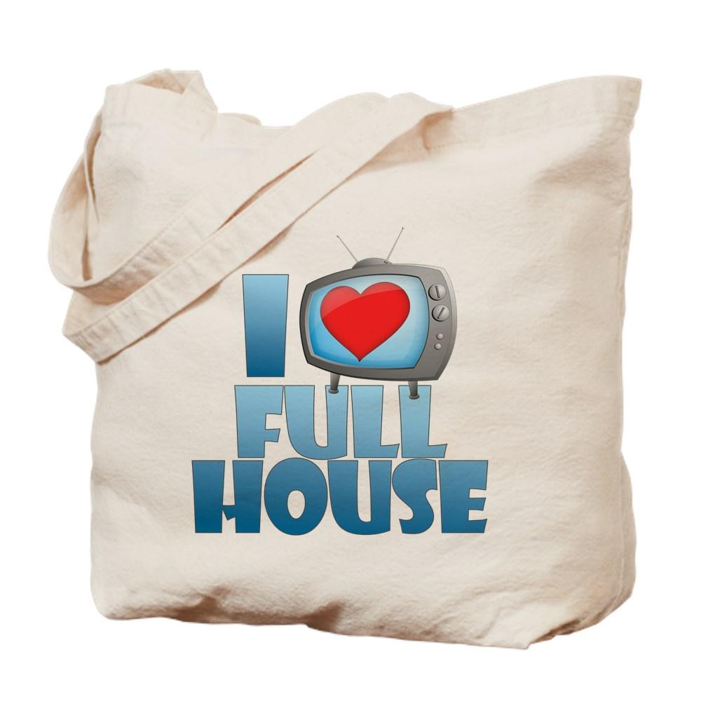 I Heart Full House Tote Bag
