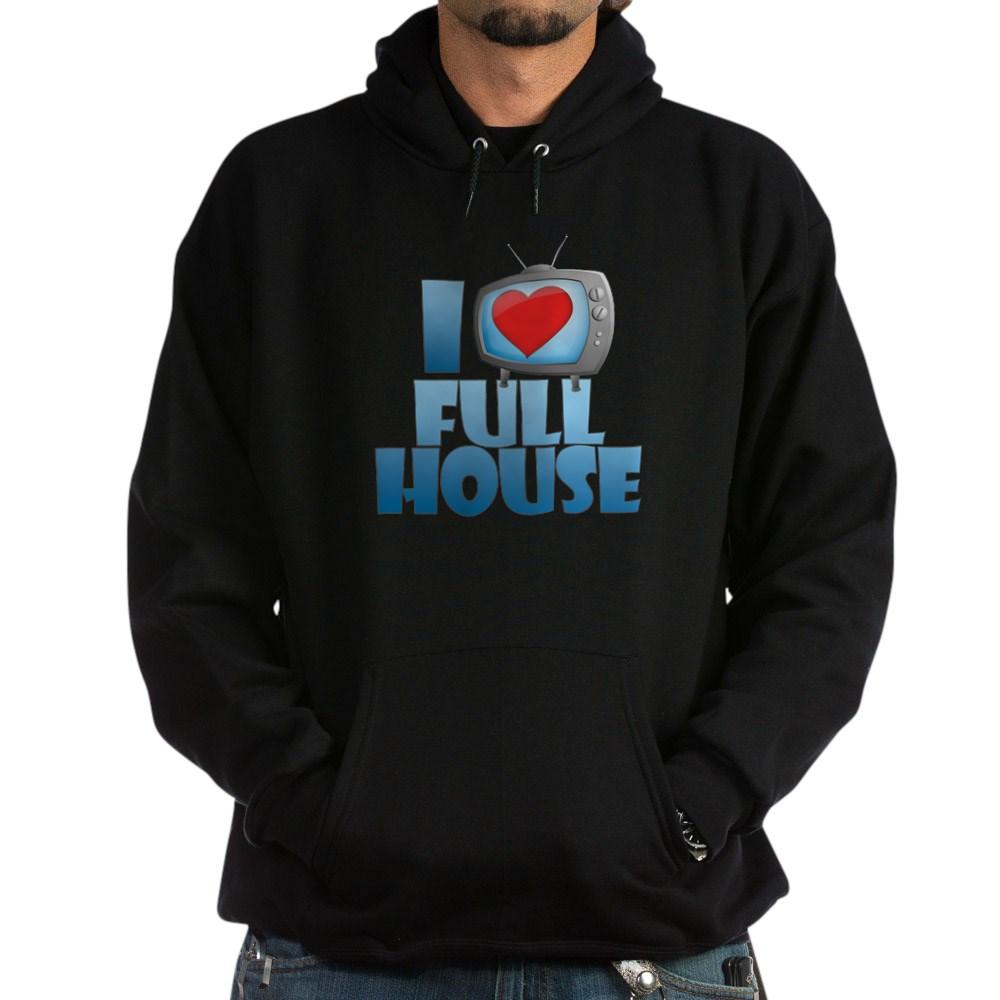 I Heart Full House Dark Hoodie