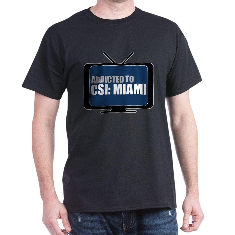 Addicted to CSI: Miami Dark T-Shirt