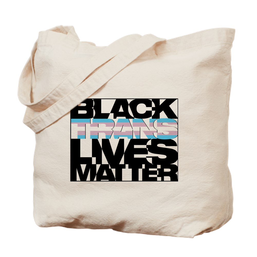 Black Trans Lives Matter Tote Bag