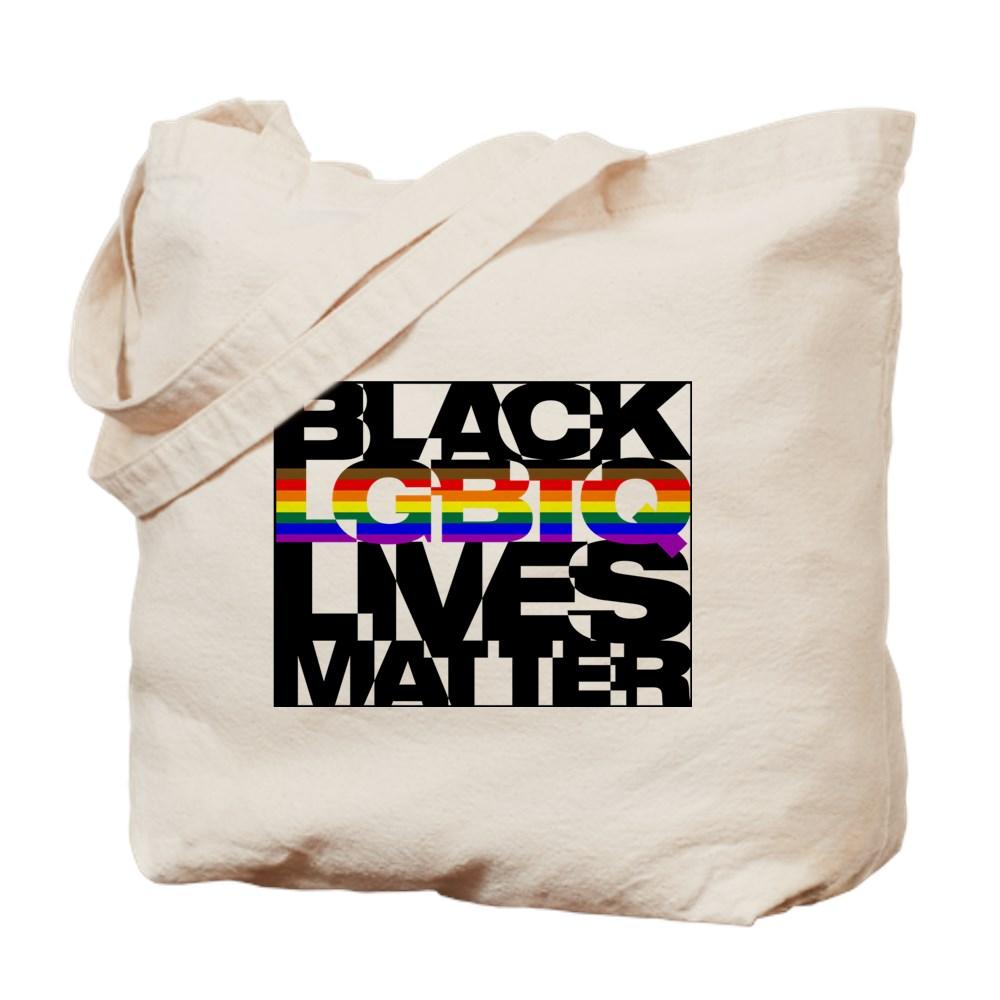 Black LGBTQ Lives Matter - Philly Pride Flag Tote Bag