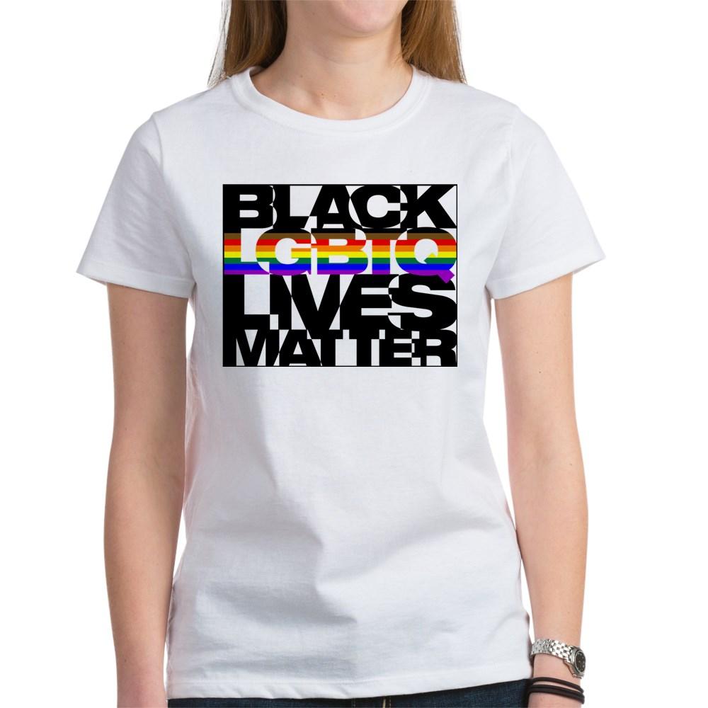 Black LGBTQ Lives Matter - Philly Pride Flag Women's T-Shirt