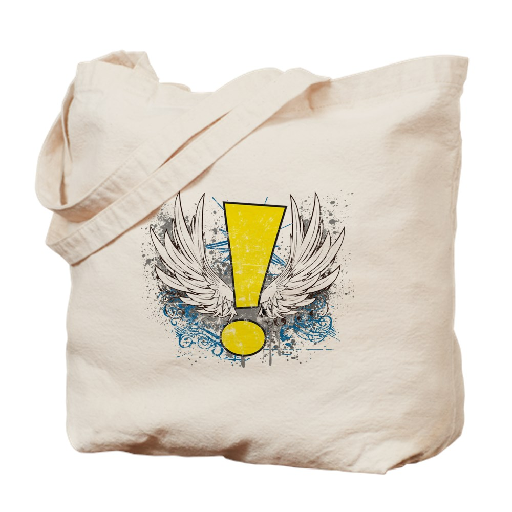 Winged Whee! Exclamation Point Logo Tote Bag