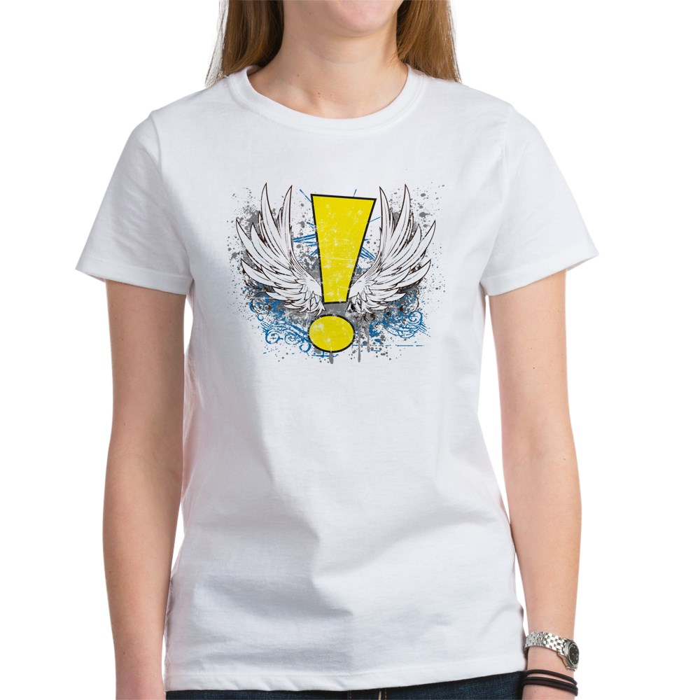 Winged Whee! Exclamation Point Logo Women's T-Shirt