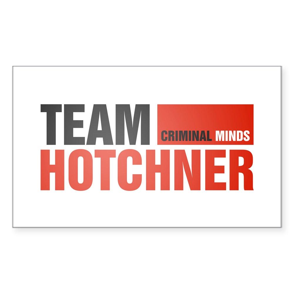Team Hotchner Rectangle Sticker