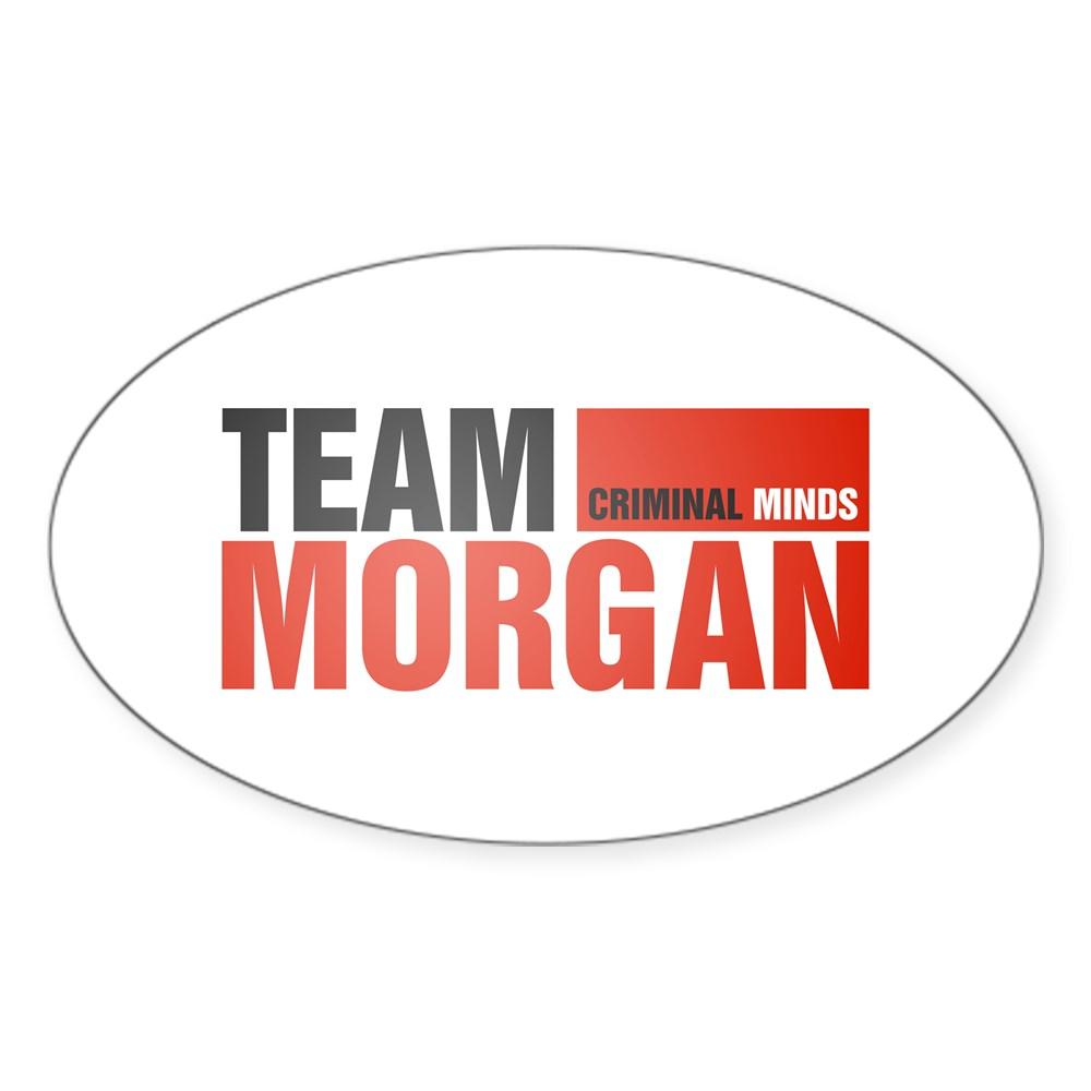 Team Morgan Oval Sticker