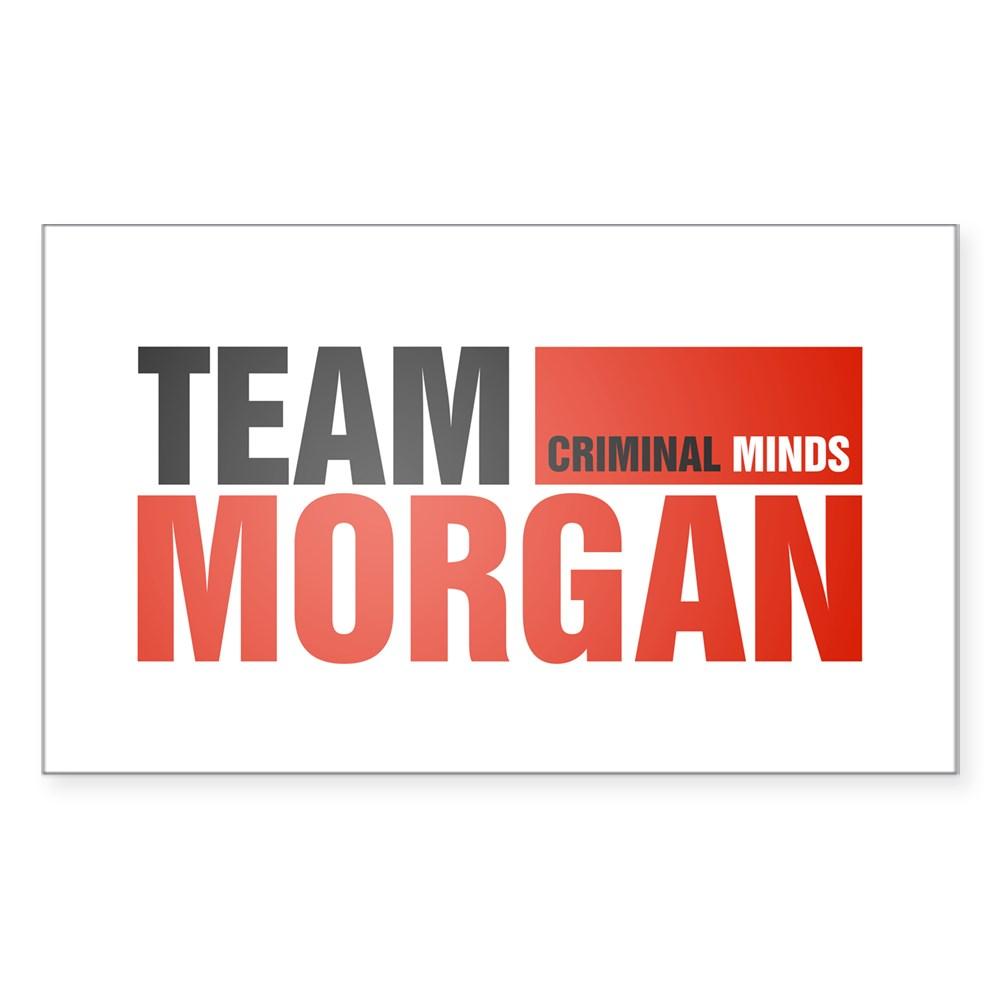 Team Morgan Rectangle Sticker