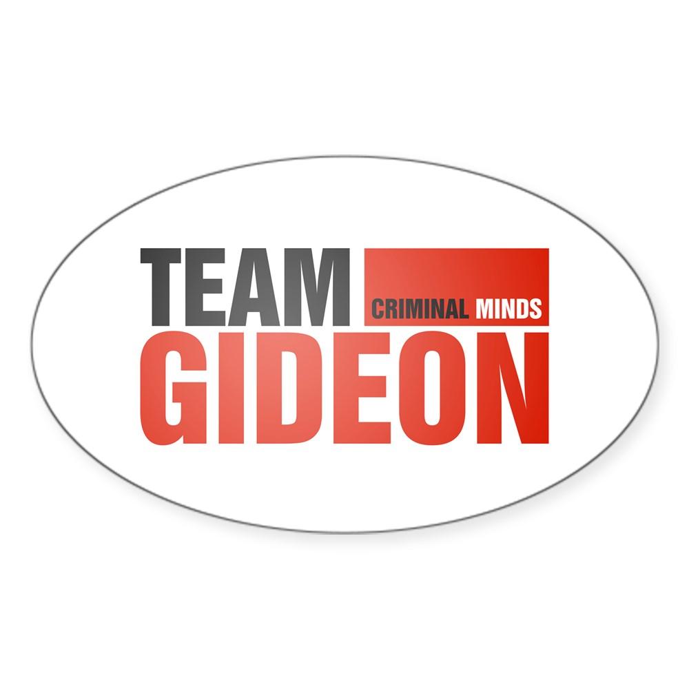 Team Gideon Oval Sticker
