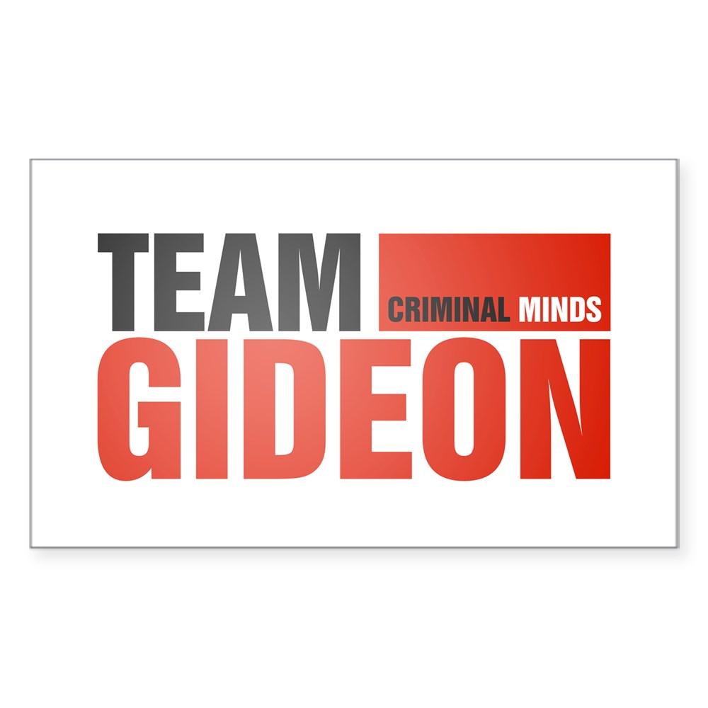 Team Gideon Rectangle Sticker