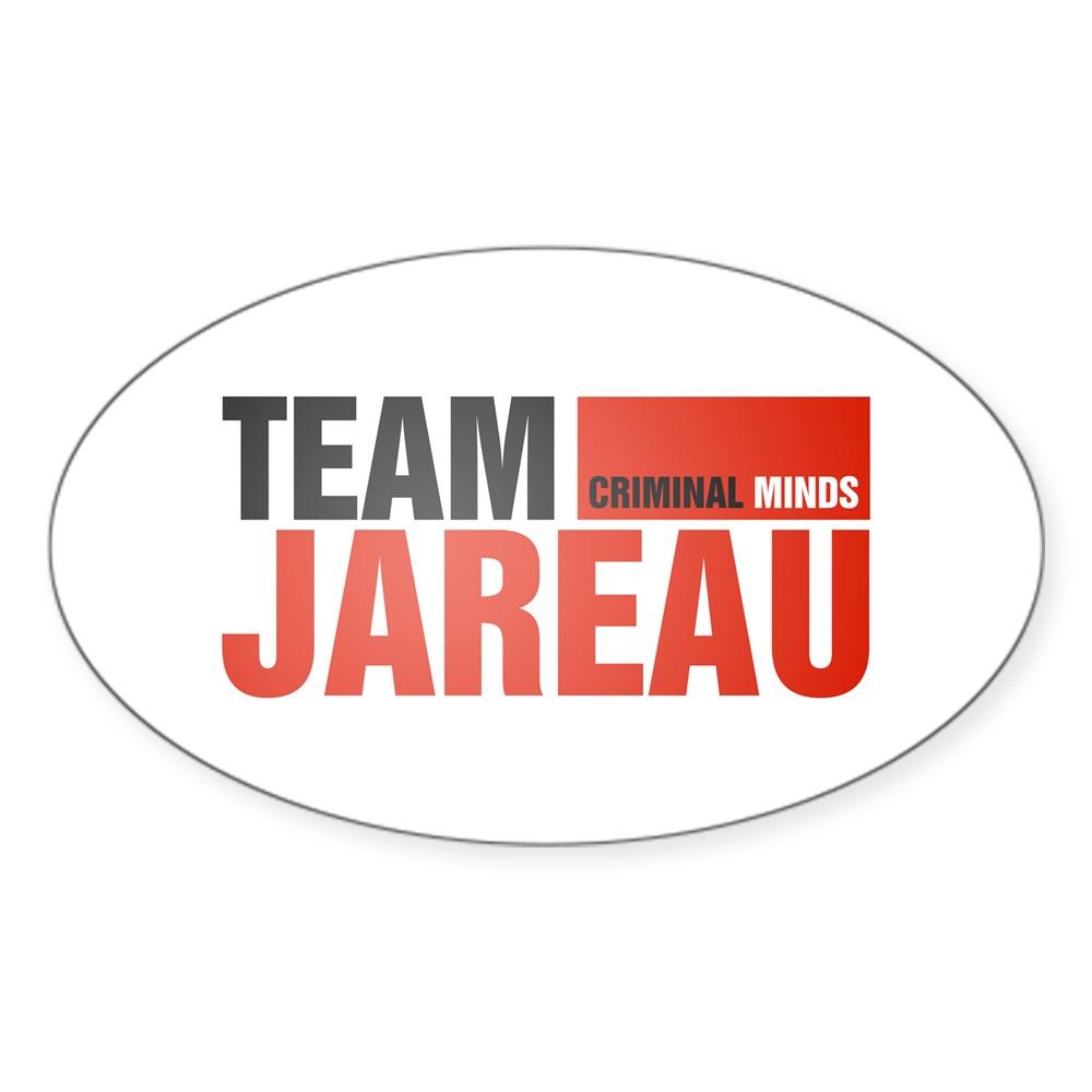 Team Jareau Oval Sticker