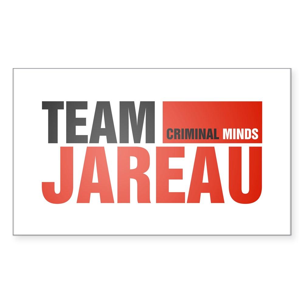 Team Jareau Rectangle Sticker