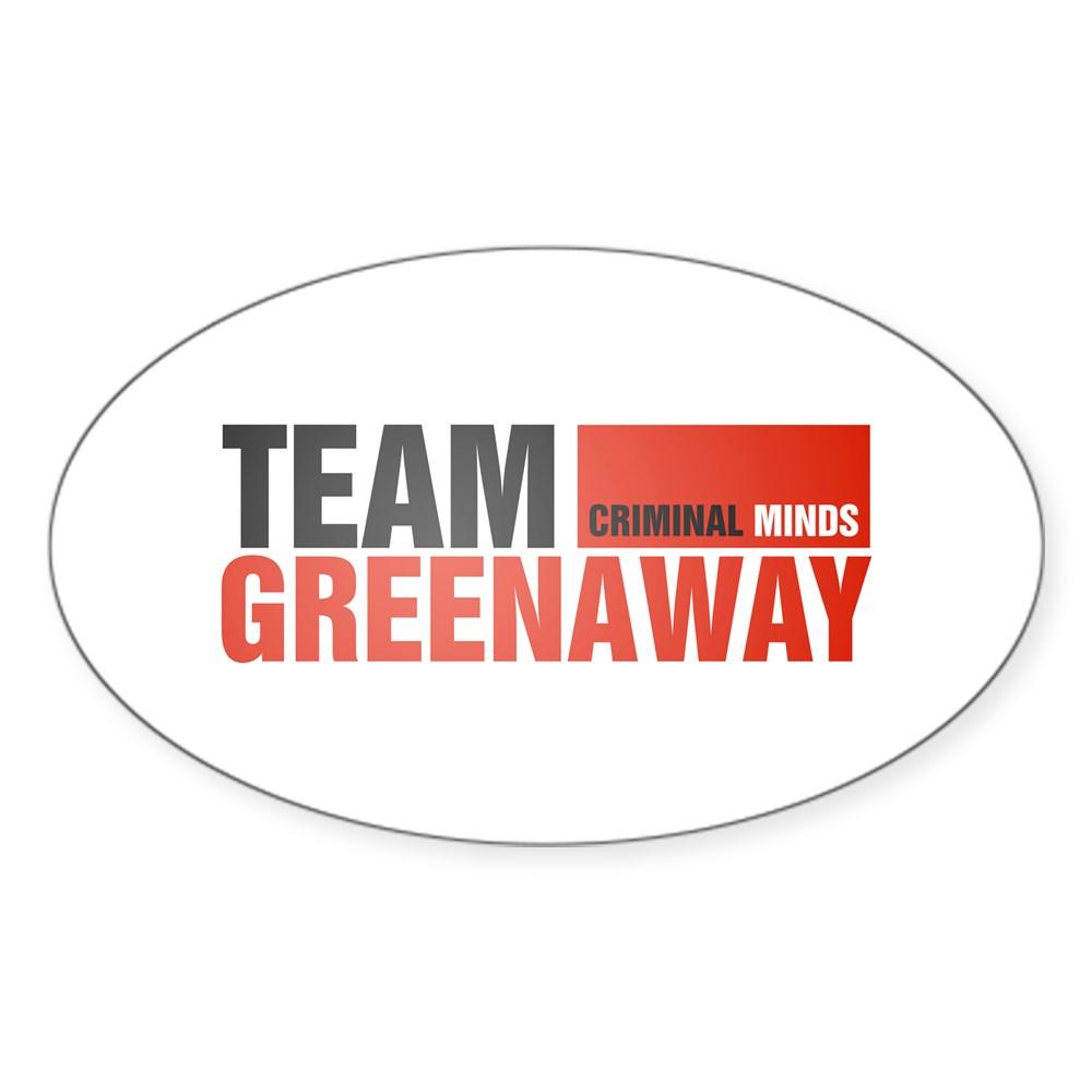 Team Greenaway Oval Sticker