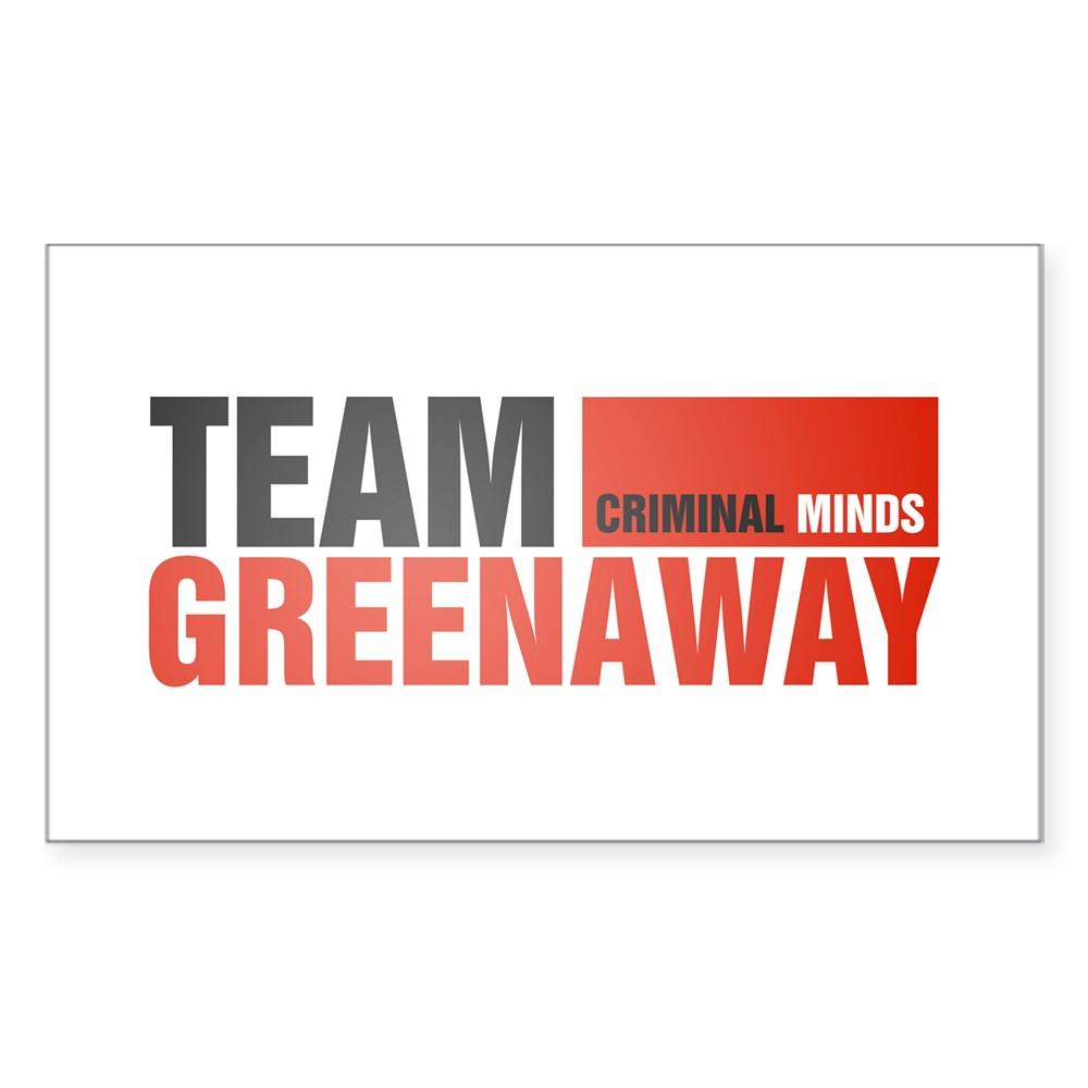 Team Greenaway Rectangle Sticker