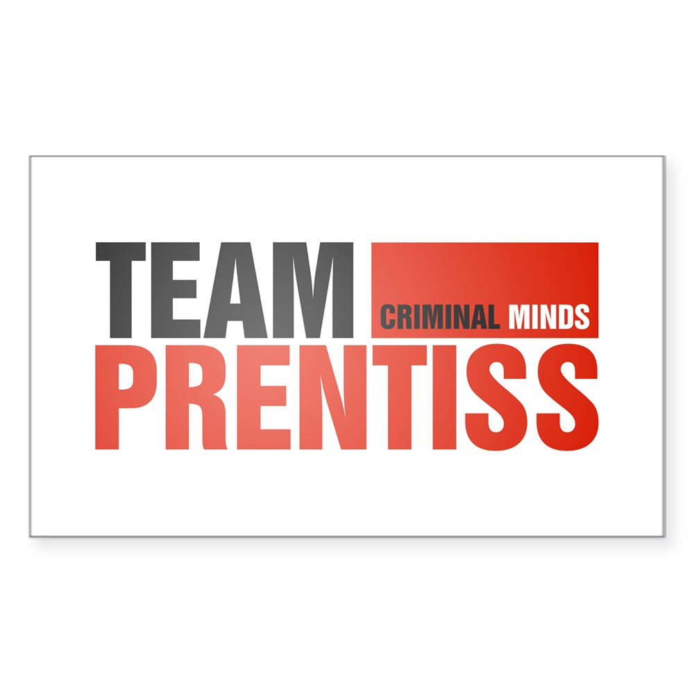 Team Prentiss Rectangle Sticker