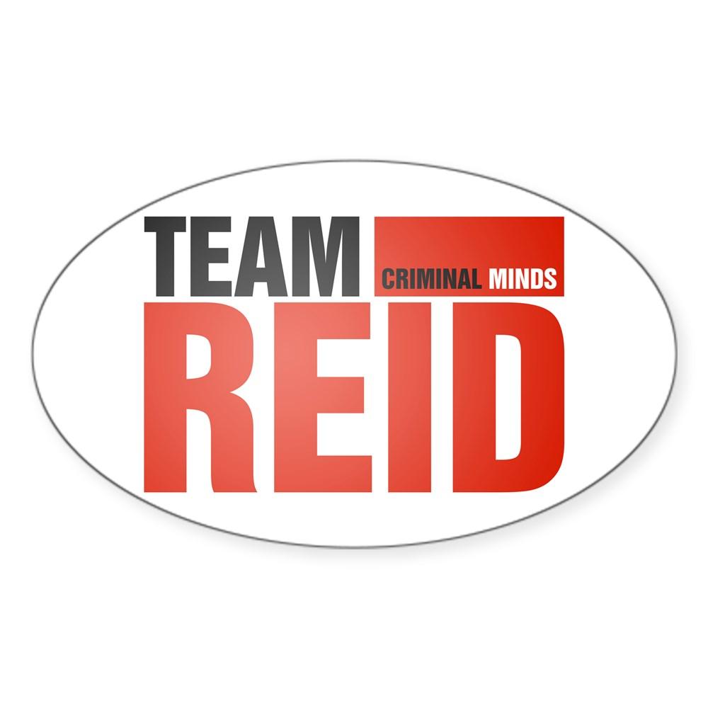Team Reid Oval Sticker