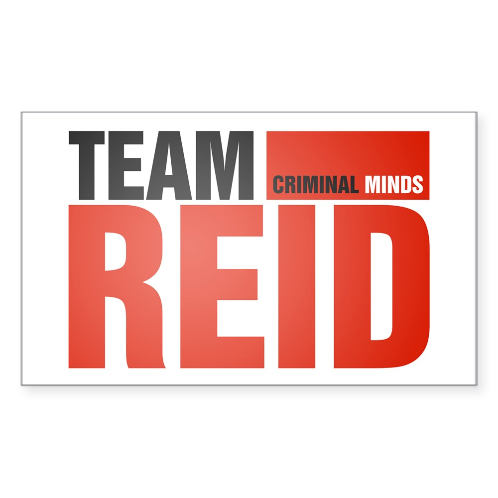 Team Reid Rectangle Sticker