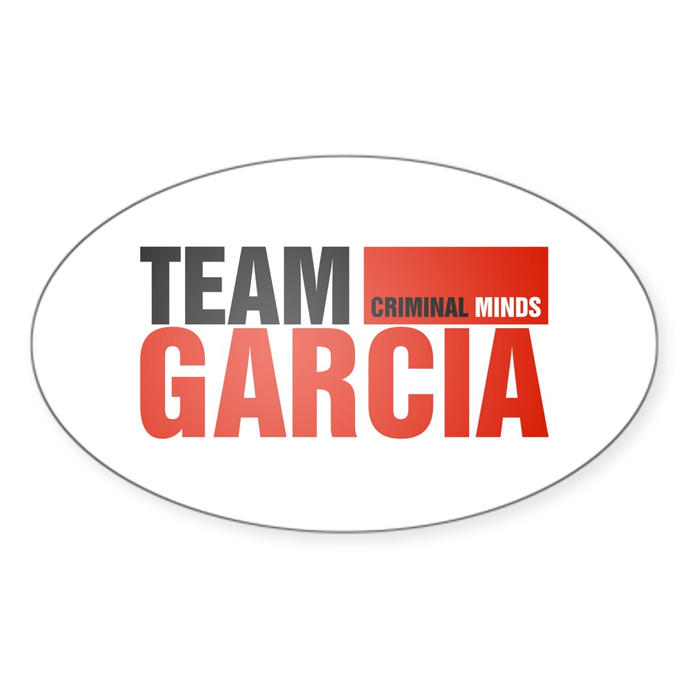 Team Garcia Oval Sticker