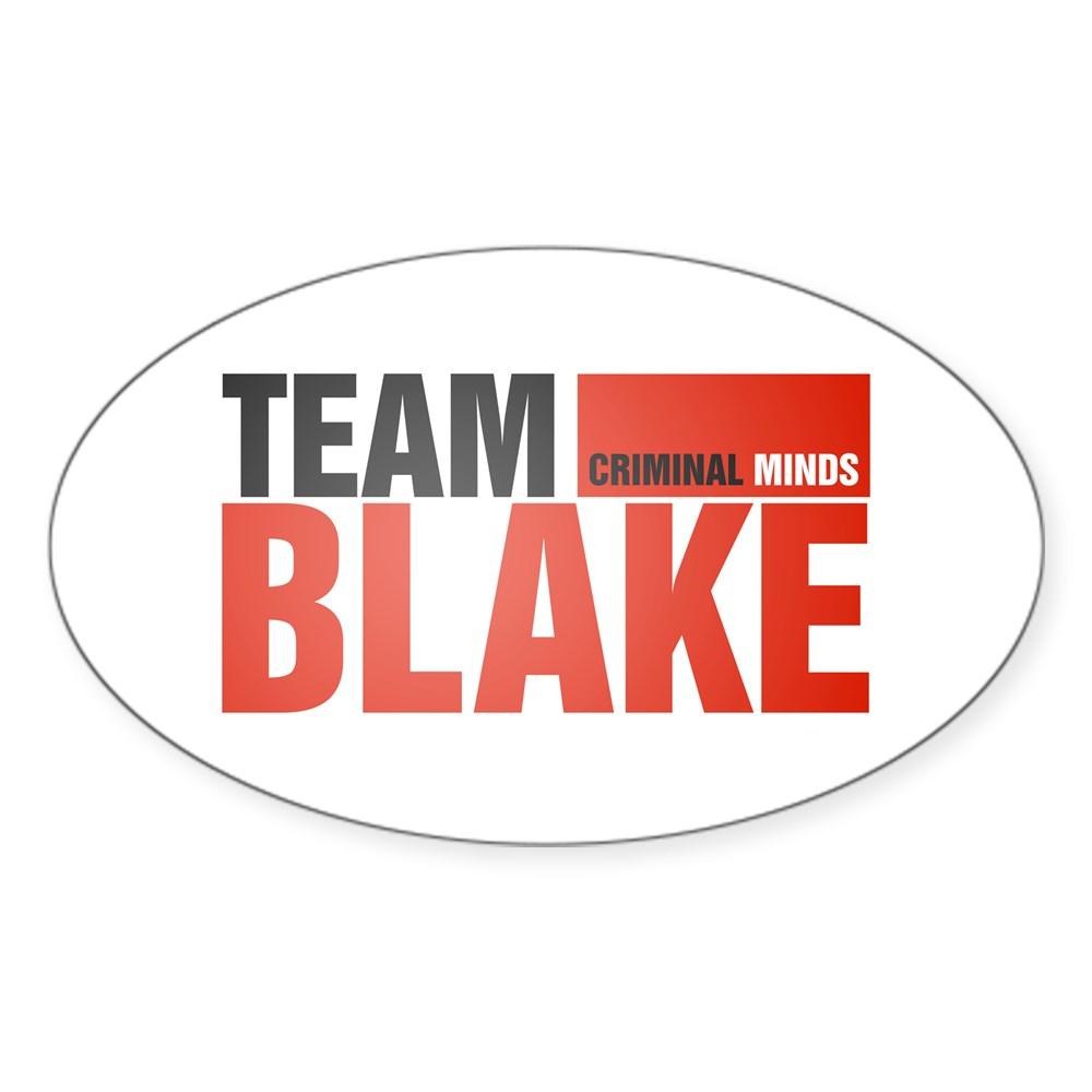 Team Blake Oval Sticker