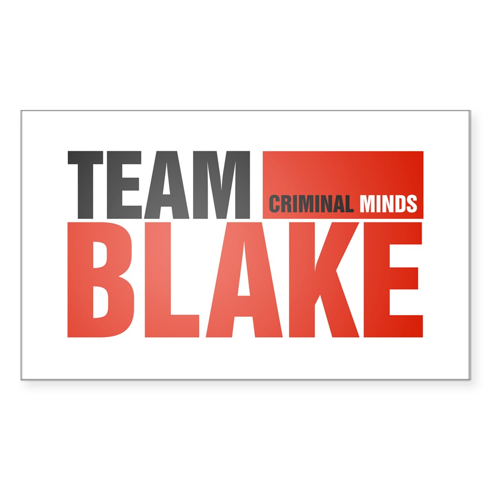 Team Blake Rectangle Sticker