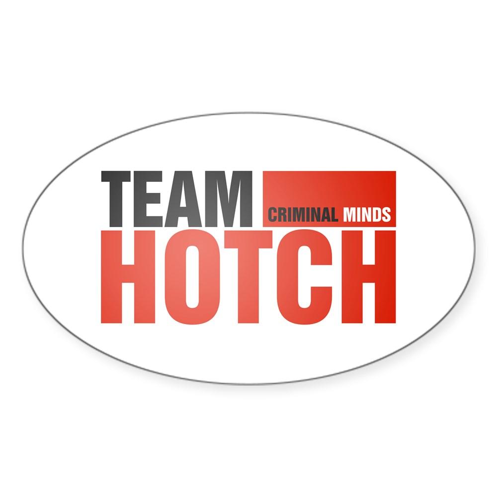 Team Hotch Oval Sticker