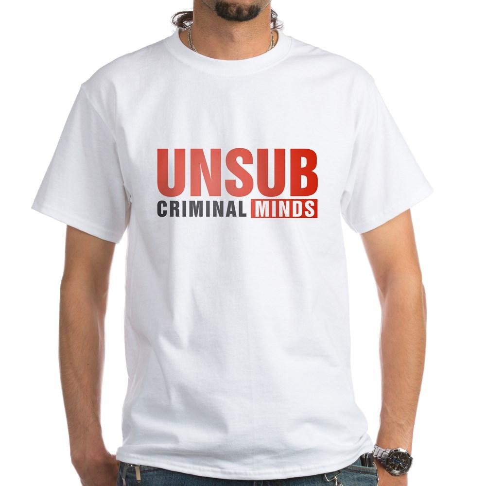 Criminal Minds UNSUB White T-Shirt