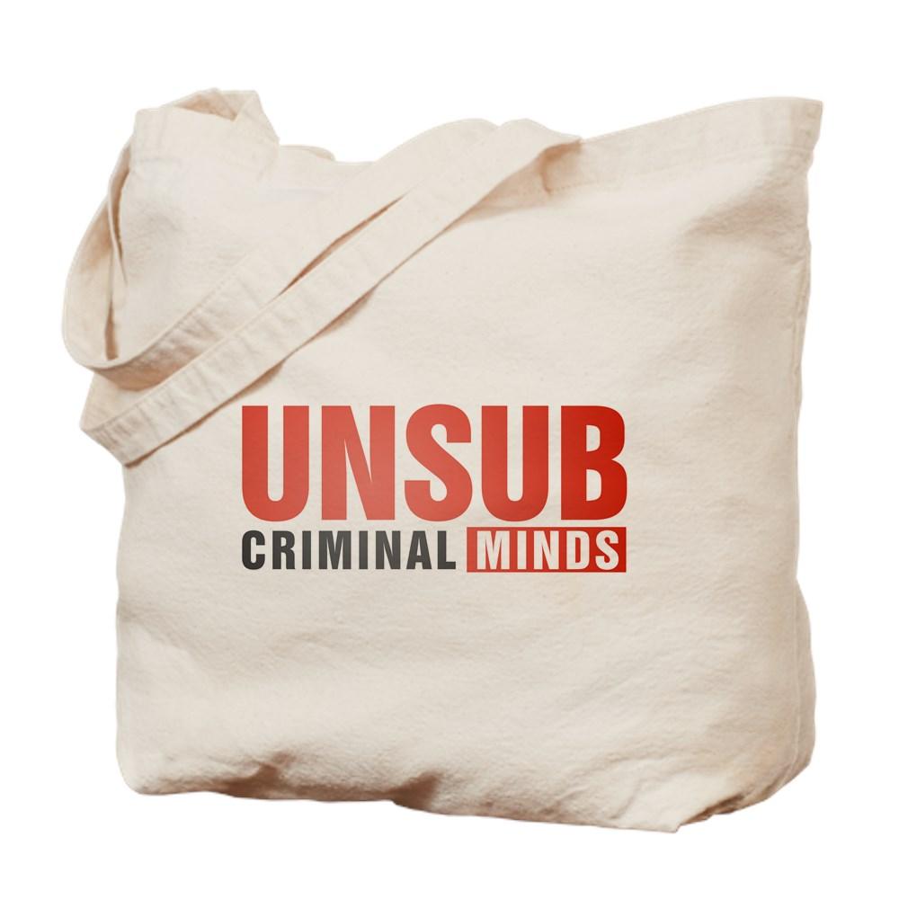 Criminal Minds UNSUB Tote Bag
