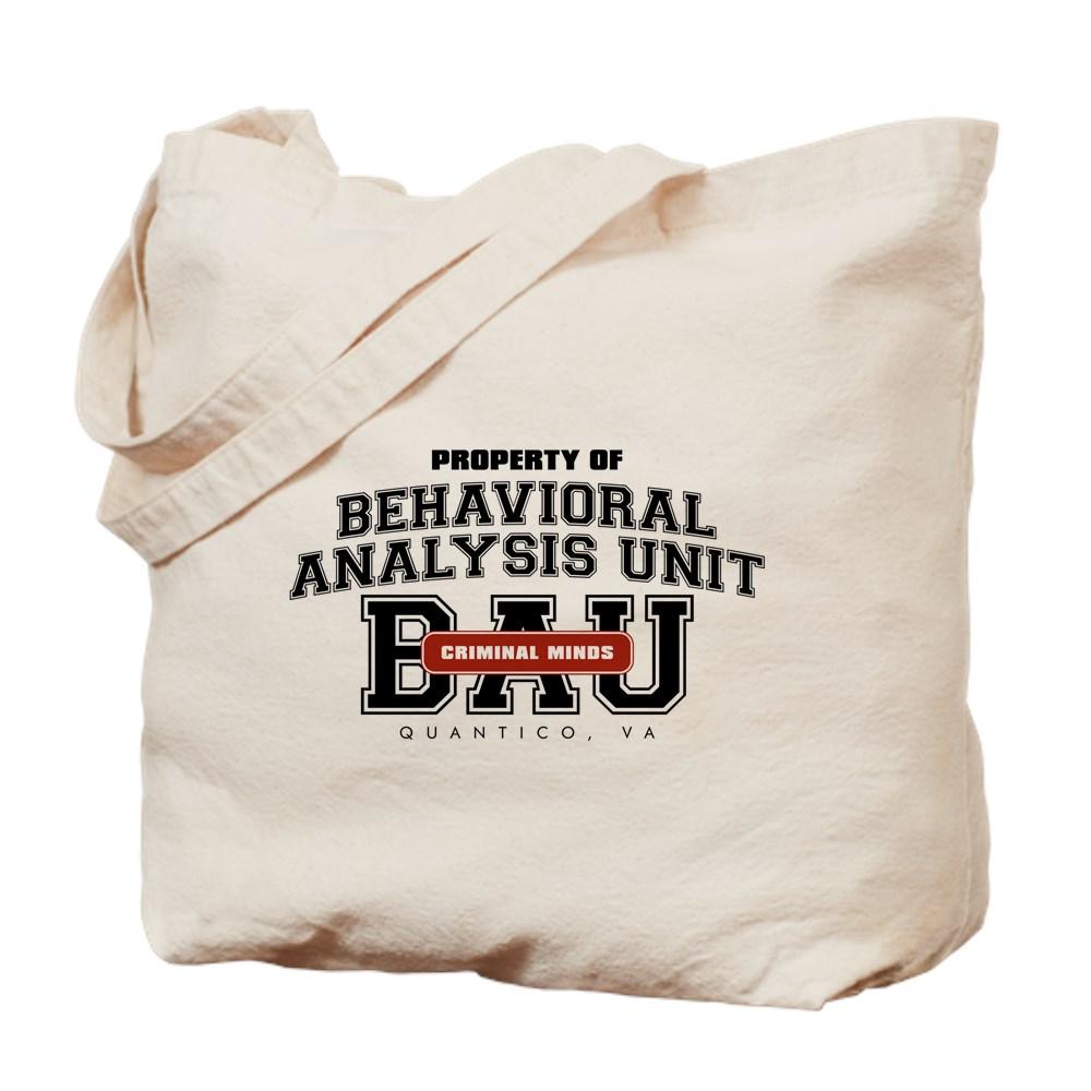Property of Behavioral Analysis Unit - BAU Tote Bag