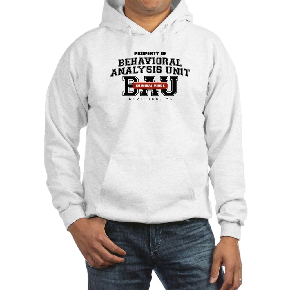 Property of Behavioral Analysis Unit - BAU Hooded Sweatshirt