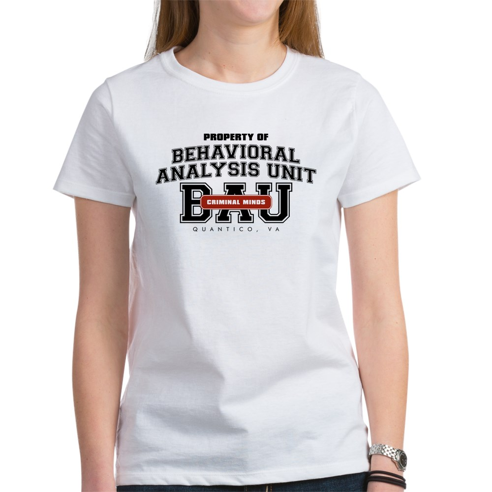 Property of Behavioral Analysis Unit - BAU Women's T-Shirt