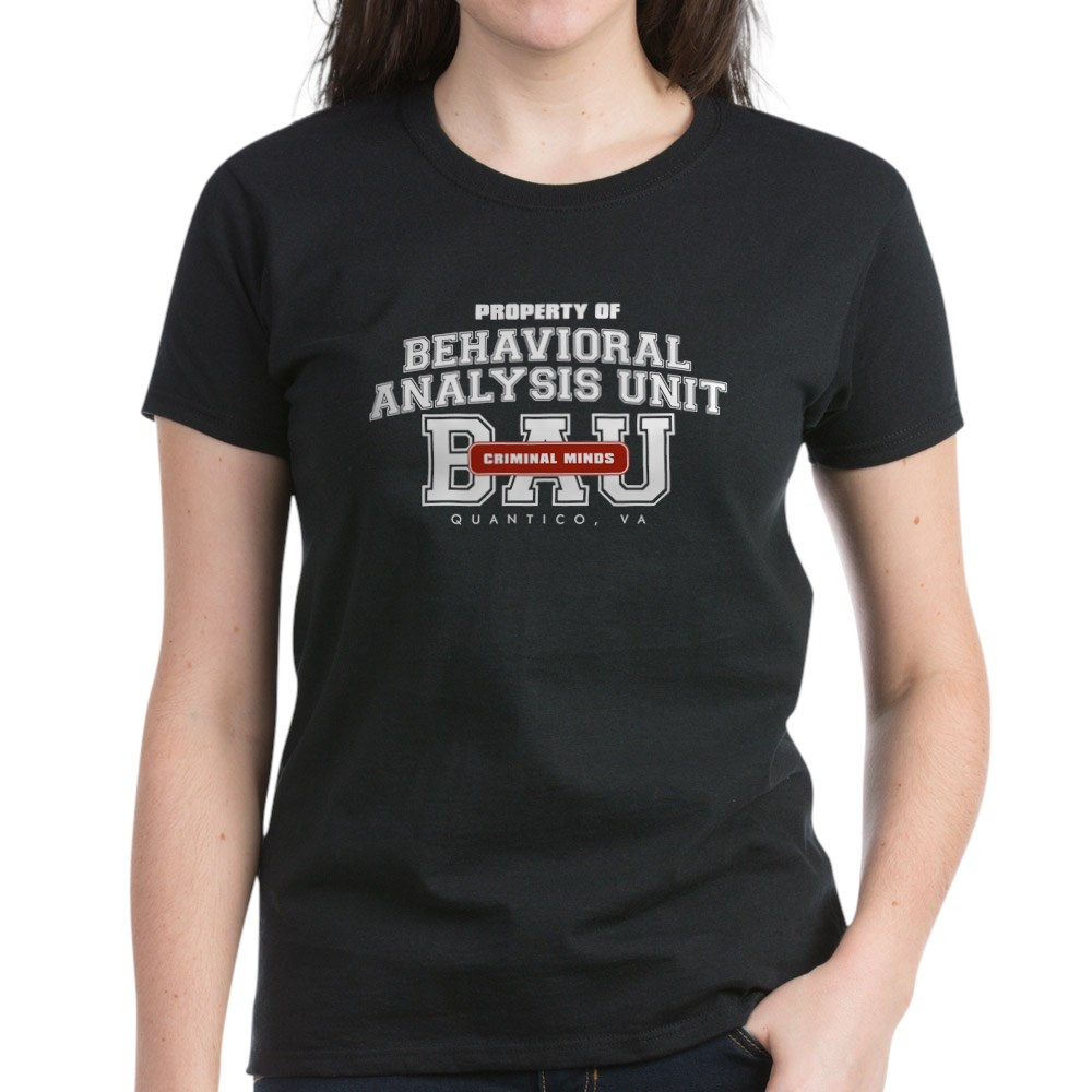 Property of Behavioral Analysis Unit - BAU Women's Dark T-Shirt